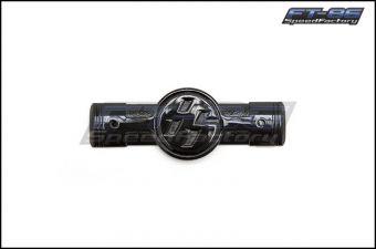 Toyota Gloss Black Fender Piston Emblems - 2013+ FR-S