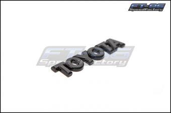 Toyota Gloss Black Trunk Emblem - 2013+ FR-S