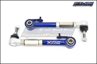Megan Racing Adjustable Toe Arms (Rear) - 2013+ FR-S / BRZ