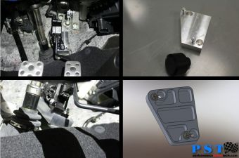 PST Gas Pedal Kit for Toe Heel Shifting - 2013+ FR-S / BRZ