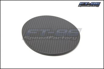 OLM Carbon Fiber Fuel Lid Cover - 2013+ FT86