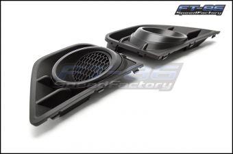 Subaru JDM Fog Light Bezels without Fog Light Hole - 2013+ BRZ
