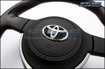 Toyota T / Cowboy Hat Steering Wheel Emblem Overlay - 2013+ FR-S