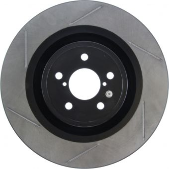 StopTech Slotted Brake Rotors 126.47043SL