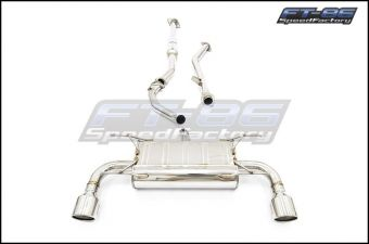 Invidia Q300 SS & Catless Front Pipe - 2013+ FR-S / BRZ / 86