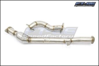 Motiv High Flow Cat Front Pipe & Overpipe - 2013+ FR-S / BRZ / 86