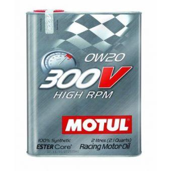 MOTUL 300V HIGH RPM 0W20 RACING OIL (2L)