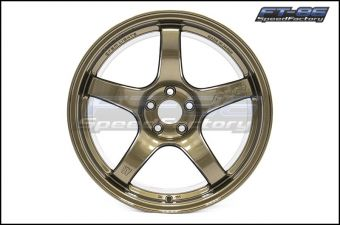Rays Gram Lights 57CR Almite Gold 17x9 +38 - 2013+ FR-S / BRZ / 86 /