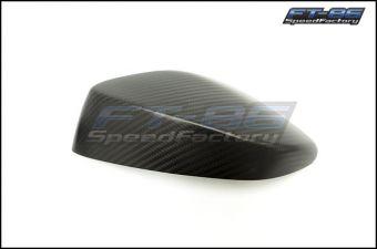 OLM Matte Dry Carbon Fiber Mirror Covers - 2013+ FR-S / BRZ