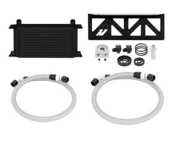 Mishimoto Oil Cooler Kit (Black) - 2013+ FR-S / BRZ