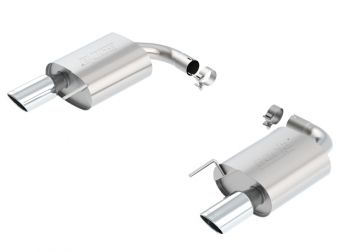 Borla Stainless Rear Section Exhaust S-Type - 2015-2016 Mustang GT