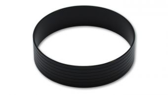 "Vibrant HD Union Sleeve, for 5.00"" O.D. Tubing - Hard Anodized Black"