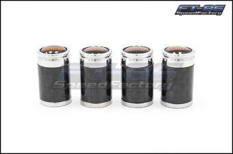 GCS STI Carbon Fiber Valve Stem Cap Set - Universal