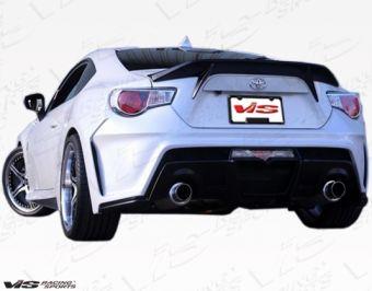VIS RACING 2013-2015 Scion FRS 2dr Alfa Spoiler