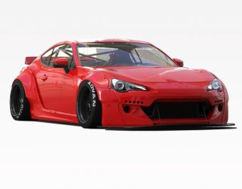 Vis Racing 2013-2016 Scion FRS 2dr Quad Six V2 Full Kit