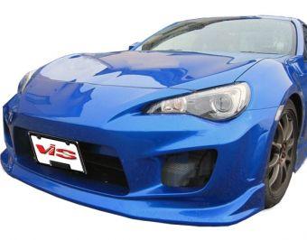 Vis Racing 2013-2015 Scion FRS 2dr Wings Front Bumper