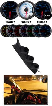 GlowShift Elite 7 Custom Gauge Package - 2013+ FR-S / BRZ