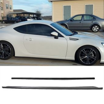 Ikon Motorsports 2013-2019 Scion FRS Subaru BRZ GT86 FT86 CS Side Skirts Poly-Urethane