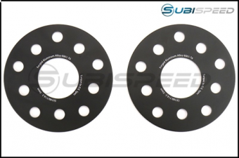 FactionFab Subaru 5x100 / 114.3 5mm 6061-T6 Forged 5mm Spacer Set - 2015+ WRX / STI / 2013+ FRS / BRZ / 86 / 2014+ Forester