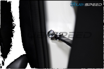GCS Door Hinge Covers - 2015+ WRX / 2015+ STI / 2013+ FR-S / BRZ / 2014+ Forester