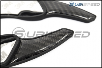 GCS EZ Carbon Automatic Flappy Paddle Extensions - 2015+ WRX / 2013-2016 FR-S / BRZ / 86 / 2014+ Forester / 2013+ Crosstrek