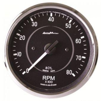 """AutoMeter Gauges 4"""" IN-DASH TACHOMETER, 0-8,000 RPM, COBRA"""