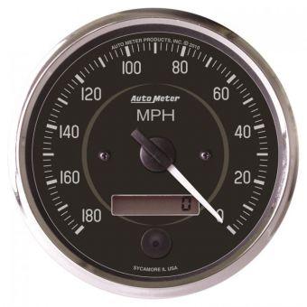 "AutoMeter Gauges 4"" SPEEDOMETER, 0-180 MPH, ELECTRIC, COBRA"