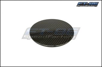 OLM DRY GLOSS CARBON FIBER FUEL LID COVER - 2013+ FR-S / BRZ