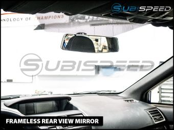 Frameless Rear View Mirror (Manual) - 2013+ FR-S / BRZ