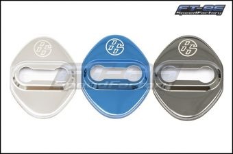 GCS Stainless Door Striker Cover - 2013+ FR-S / BRZ / 86