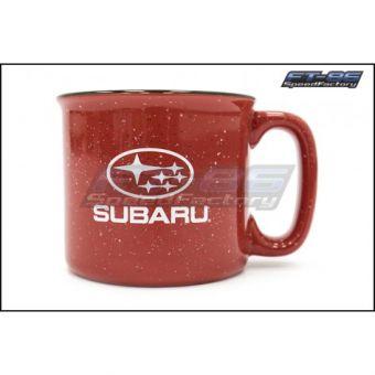Subaru Red Campfire Mug