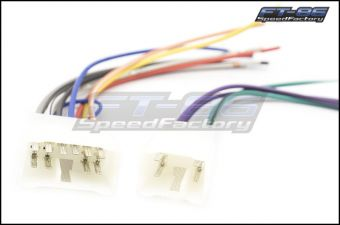 Metra 10 and 6 Pin Radio Wiring Harnesses - 2015+ WRX / 2015+ STI / / 2013+ FR-S / BRZ / 86 / 2014+ Forester