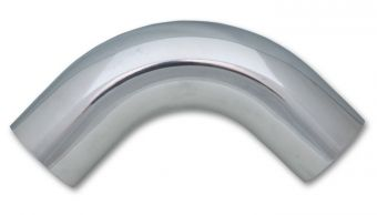 "Vibrant 90 Degree Aluminum Bend, 0.75"" O.D. - Polished"
