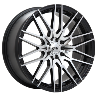 Rebel WHEELS 17x7.5 +45MM (GLOSS BLACK) - 2013+ FR-S / BRZ