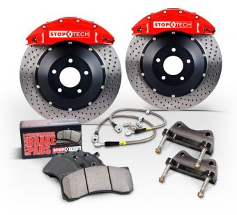 Stoptech 345x28 Big Brake Kit (Rear) - 2013+ FR-S / BRZ