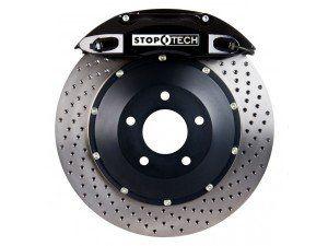 Stoptech 355x32 Big Brake Kit Drilled / Black (Front) - 2013+ FR-S / BRZ
