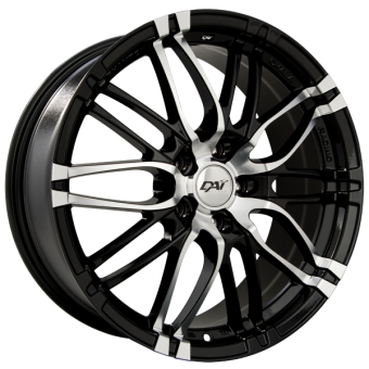 YAKUZA WHEELS 17x7.0 +42MM (GLOSS BLACK) - 2013+ FR-S / BRZ