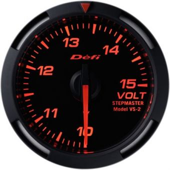 Defi 52mm Racer Series Gauges (Voltage) - Universal