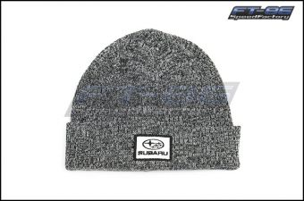 Subaru Heather Black Cuffed Knit Beanie - Universal