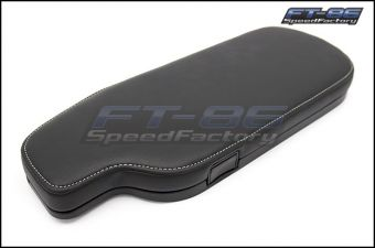 Toyota OEM GT86 LHD Arm Rest (Silver Stitch) - 2013+ BRZ / FR-S / 86