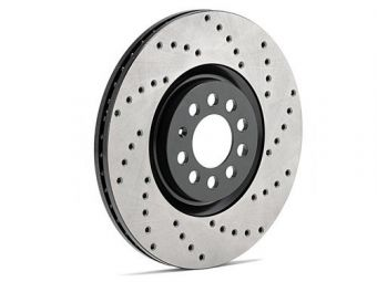 Stoptech Drilled Rotor Pair (Front) - 2013+ FR-S / BRZ