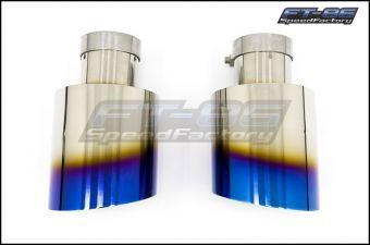 MXP Comp RS Titanium Exhaust Tips - 2013+ FR-S / BRZ / 86
