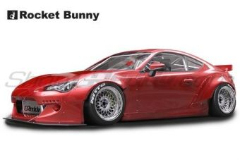 GReddy Rocket Bunny V2 Aero - Scion FR-S / Subaru BRZ (ZN6) Side Skirts (only)