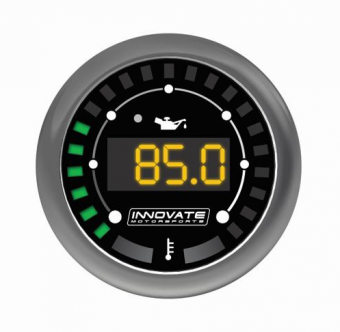 Innovate MTX Digital Dual Function Gauges (Oil Pressure & Temp) - Universal