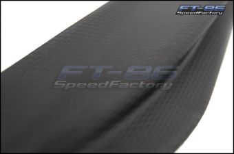 GCS TRD Style Textured Finish Aero Fins - 2013+ FR-S / BRZ / 86