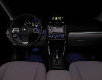 Subaru Footwell Lighting Kit - 2013+ FR-S / BRZ