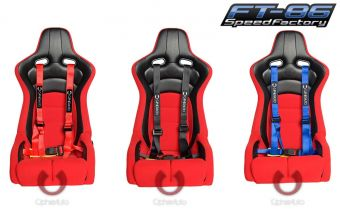 """Cipher Racing 2"""" 4 Point Harnesses - Universal"""