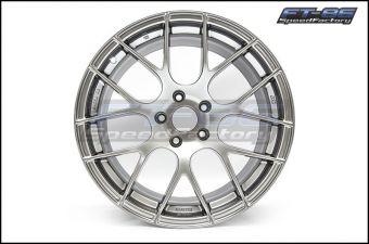 Enkei RAIJIN Wheels 18x8.5 /18x9.5 +45mm (Hyper Silver) - 2013+ FR-S / BRZ