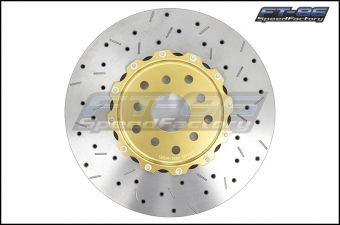DBA 5000 Series 2 Piece Drilled and Slotted Rotor (Front) - 2013+ FR-S / BRZ / 86 (Performance Package)