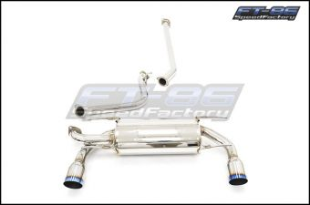 Avo Turboworld Stainless Steel Cat-Back Exhaust System (Non Resonated) - 2013+ FT86